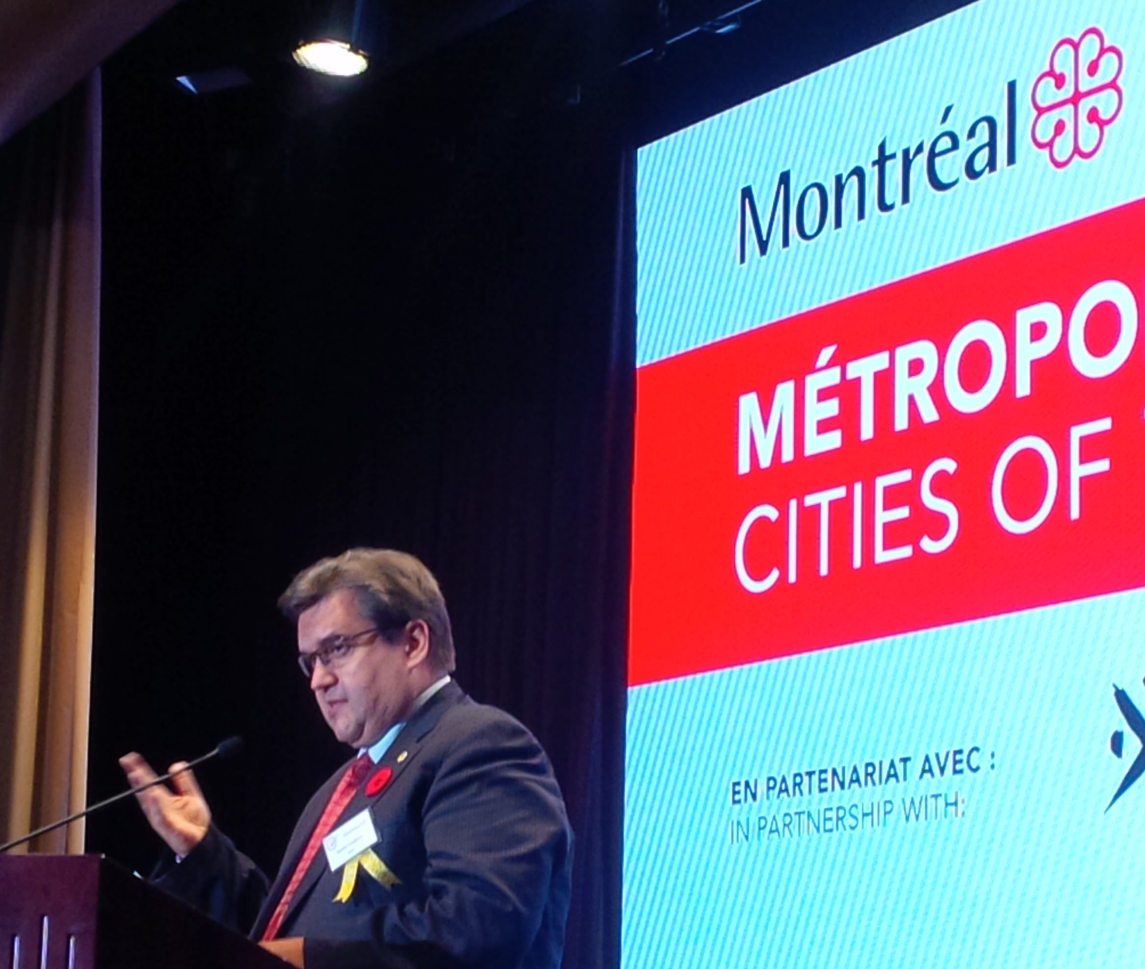 Canadians out to see Montreal Mayor Denis Coderre