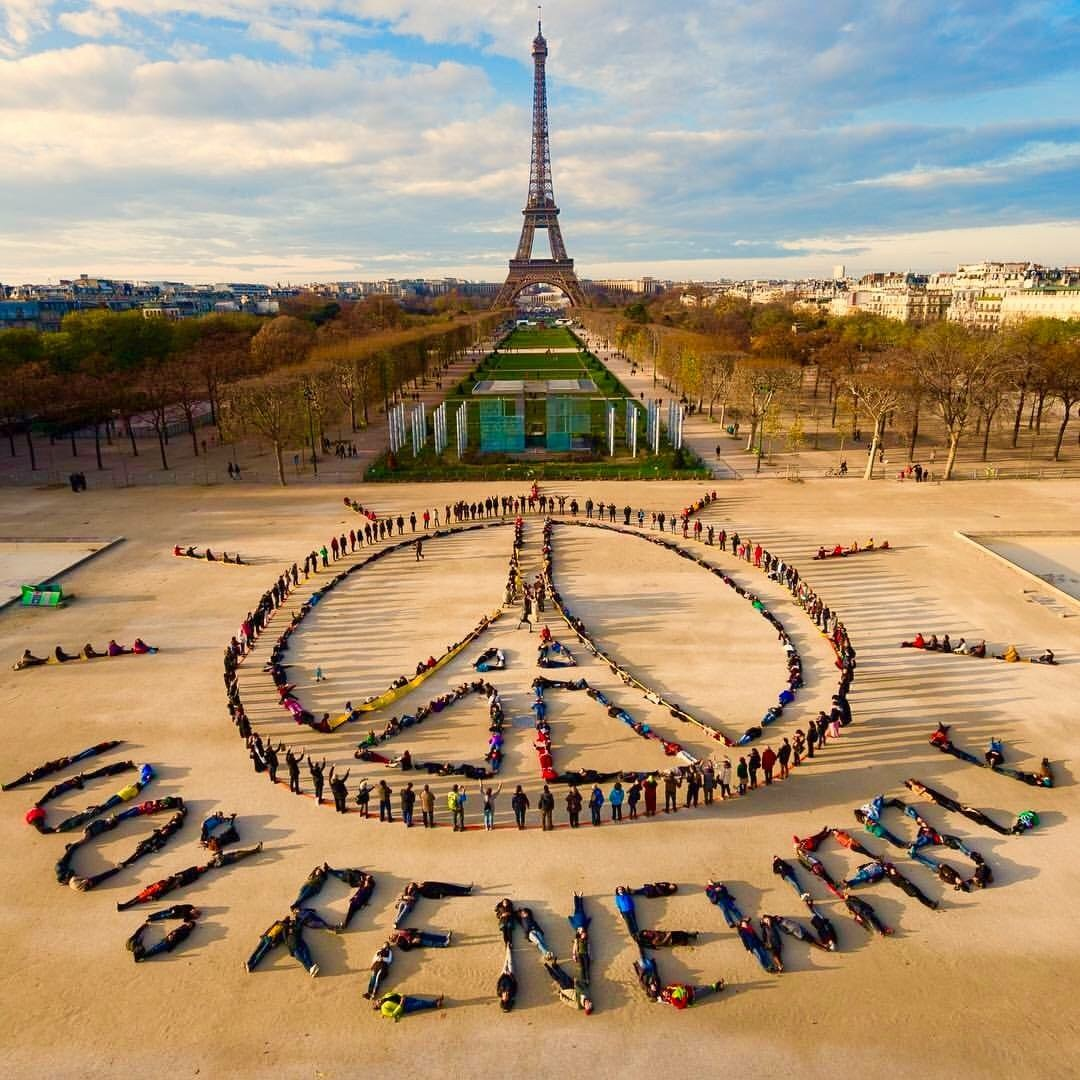 A Message of Freedom and 100% Renewable Energy from Paris