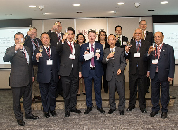 HKGCC welcomes CGs of the Americas