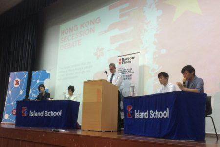 Succession vs. secession: Hong Kong's first debate on leaving China