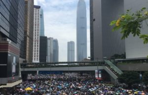 In uphill fight, protesters and pro-democracy camps call on chief executive to revoke extradition bill